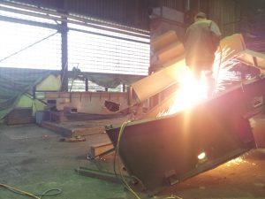 Industriedemontagen und Brennarbeiten
