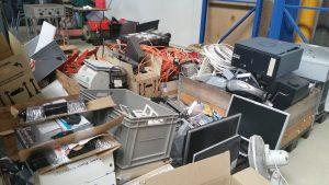 Elektronikschrott Abholung