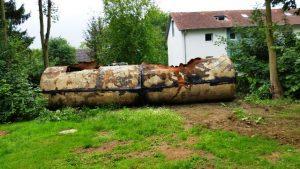 Tank Demontage